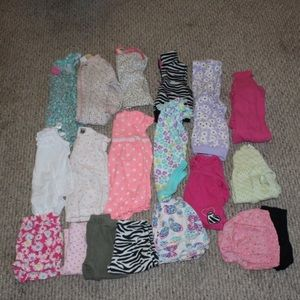 Baby girl 6-9m clothes